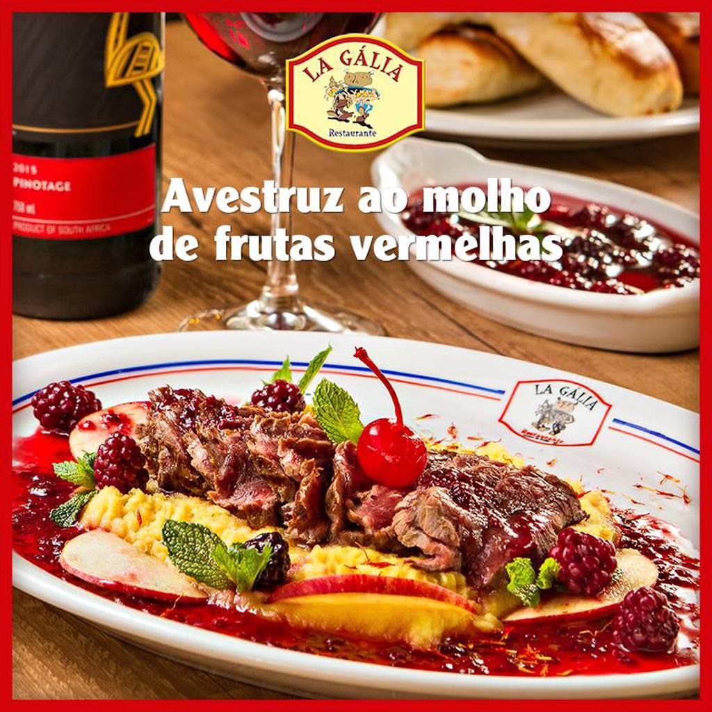 Cardápio Restaurante La Gália