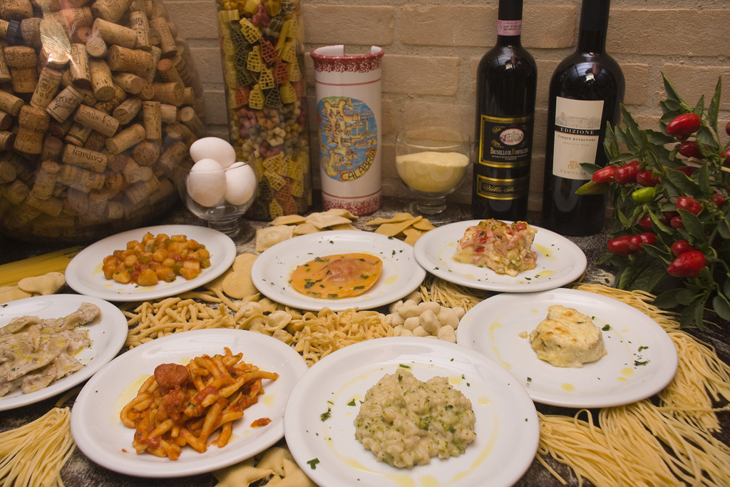 Cardápio Restaurante Festival Della Pasta
