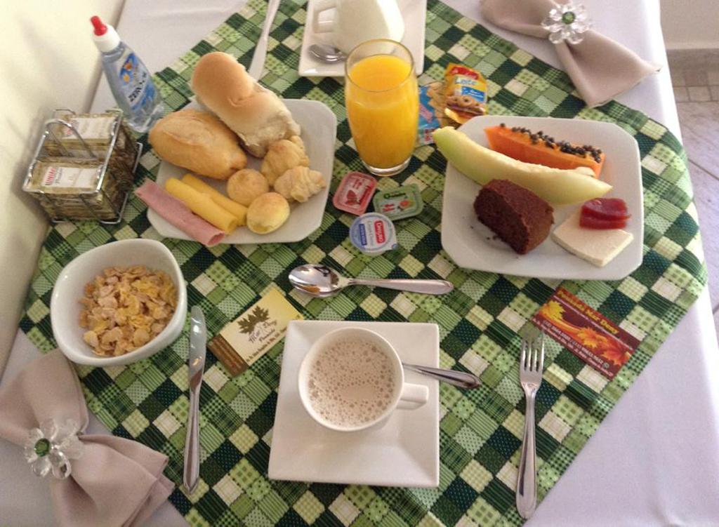 Café da Manhã Pousada Mar Deny