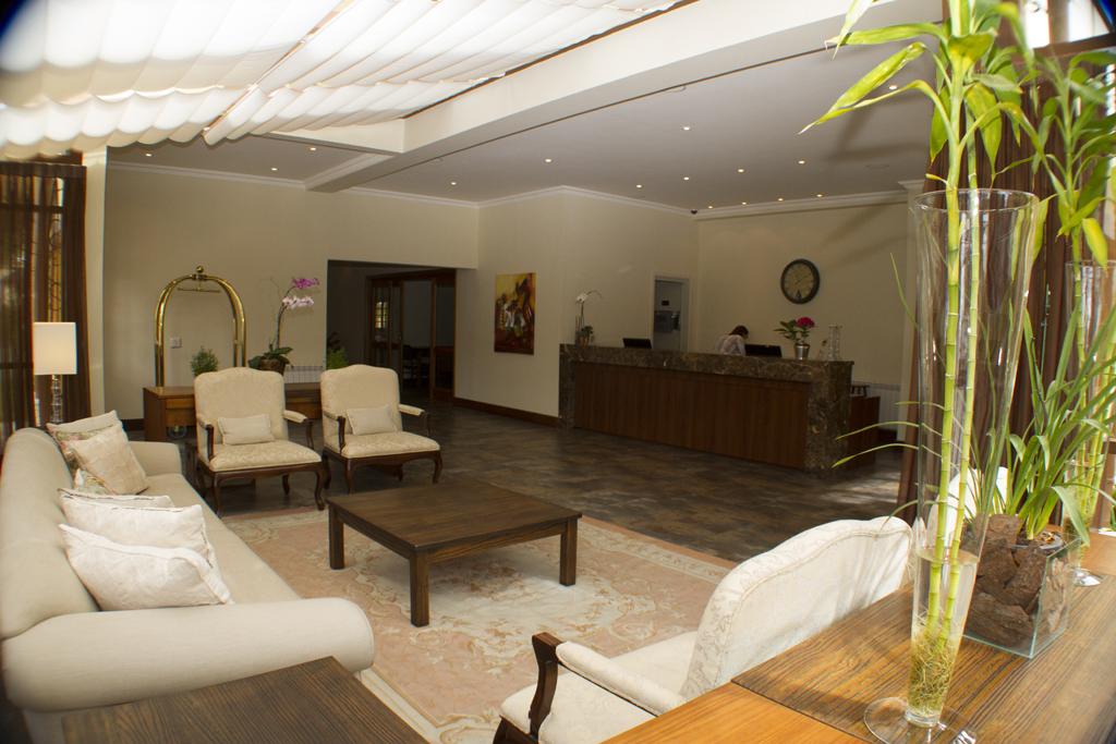 Recepção Hotel Le Renard