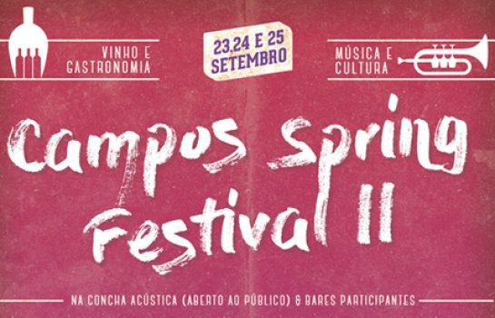 Shows de Blues na Praça acontecem durante o Campos Spring Festival