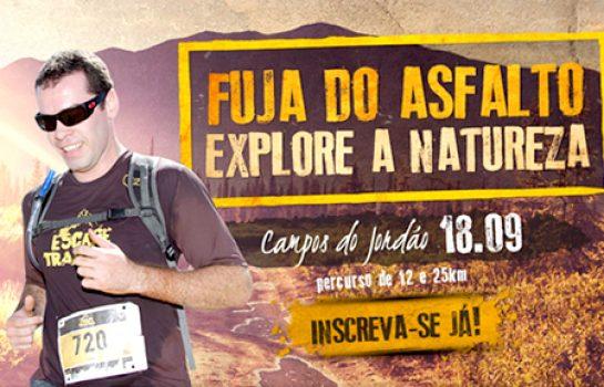 Corrida de Montanha Scape Trail Run acontece em Campos do Jordão