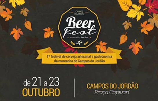 Beer Fest: Campos do Jordão recebe Festival da Cerveja em Outubro