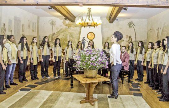 Concerto apresenta Meninas Cantoras de Campos do Jordão e de Lavras no Carnaval