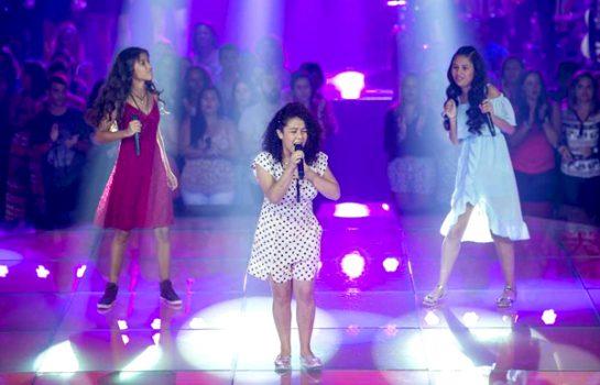 Programa The Voice Kids tem Cantora destaque de Campos do Jordão