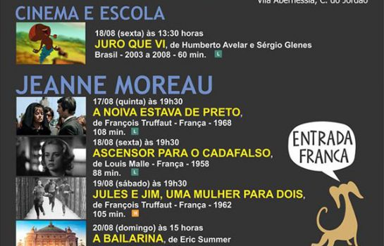 Cineclube Araucária homenageia Jeanne Moreau