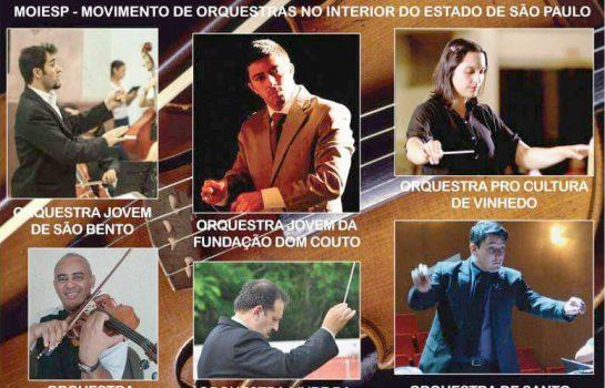 Encontro de Orquestras Educacionais tem entrada gratuita em Campos do Jordão
