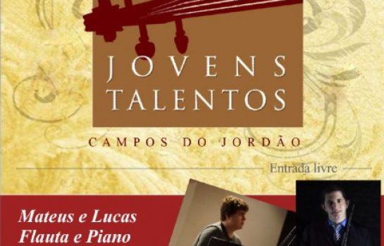 Duo de Flauta e Piano se apresenta no Hotel Toriba neste Sábado