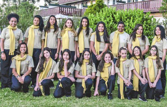 Apresentação Meninas Cantoras de Campos do Jordão