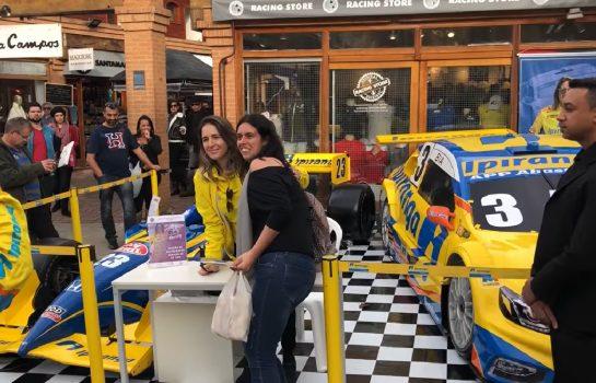 Exposição do StockCar e Formula Indy em Campos do Jordão
