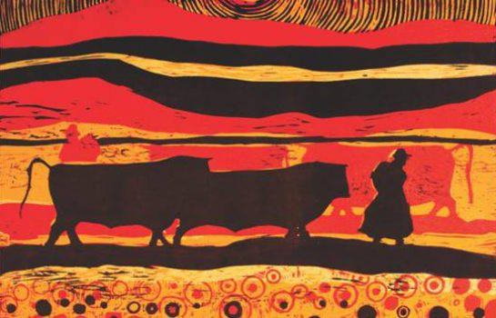 Exposição mostra xilogravuras de artistas peruanos em Campos do Jordão