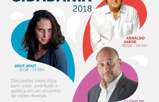 Encontro da Cidadania recebe palestras de Jabor, Clóvis de Barros e Jout em Campos