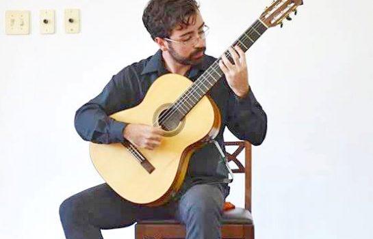 Concerto de Violão acontece na Casa da Xilogravura em Campos do Jordão