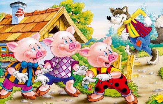 Especial escolas no cinema: Os três porquinhos