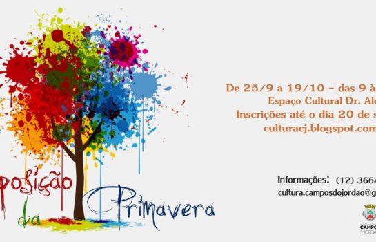 II Mostra de Primavera acontece no Espaço Cultural
