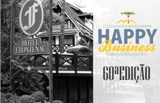 Happy Business completa sua 60ª edição no dia 27/09