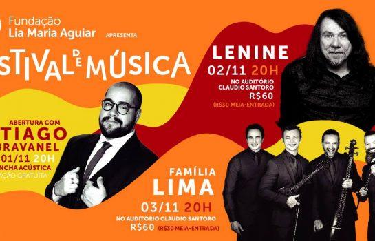 Festival de Música apresenta Tiago Abravanel, Lenine e Família Lima em Campos do Jordão