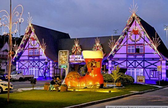 Feriado de 15 de Novembro terá abertura do Natal dos Sonhos em Campos do Jordão