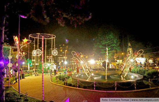 Dezembro começa com Atrações Natalinas em Campos do Jordão
