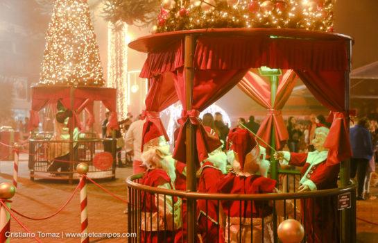 Atrações de Natal acontecem no final de semana em Campos do Jordão