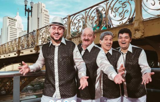 Grupo Demônios da Garoa faz show durante o Carnaval em Campos do Jordão