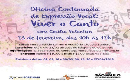 Oficina Continuada de Expressão Vocal: Viver o Canto