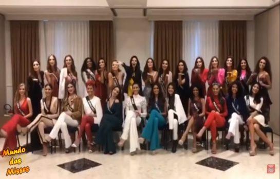 Veja como foi a chegada das Misses Brasil em Campos do Jordão