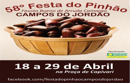 Programação: Festa do Pinhão 2019 – 18/04/2019