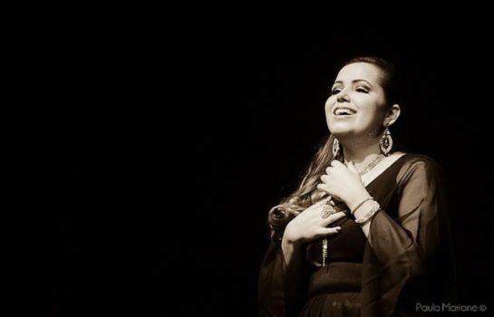 Soprano Gabriella Rossi se apresenta em recital no Hotel Toriba em Campos do Jordão