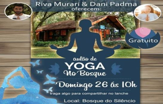 Aulão de Yoga no Bosque