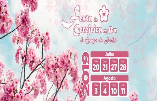51ª Festa da Cerejeira em Flor de Campos do Jordão (21/07/2019)
