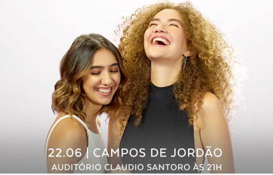 Duo Anavitória faz show em Campos do Jordão no feriado de Corpus Christi