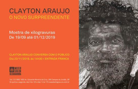 Casa da Xilogravura apresenta mostra O Novo Surpreendente de Clayton Araujo
