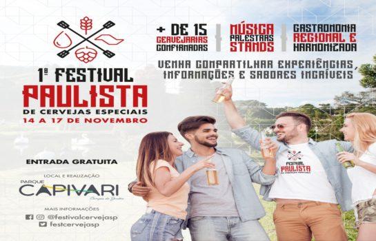 Festival de Cervejas Especiais acontece no Feriado de 15 de Novembro em Campos do Jordão