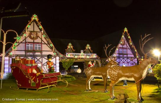Luzes e Decoração de Natal atraem público no Final de Ano em Campos do Jordão