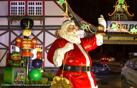 Finais de Semana de Dezembro tem Corais e Parada de Natal em Campos do Jordão
