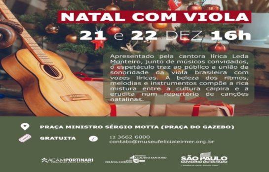 Natal com Viola 21/12/2019