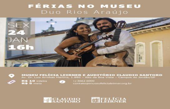 Duo Rios-Araújo de Violão e Violino