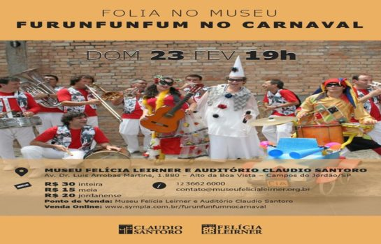 Folia no Museu: Furunfunfum no Carnaval