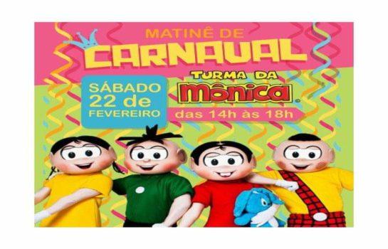 Matinê de Carnaval – Turma da Mônica