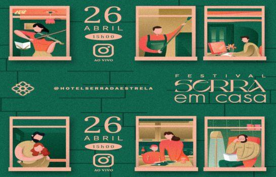 """Hotel Serra da Estrela abre suas portas digitais e te convida a uma experiência única no """"Festival Serra em Casa"""""""