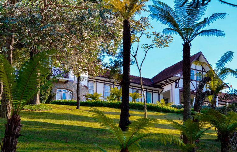 Hotel Vila Inglesa em Campos do Jordão