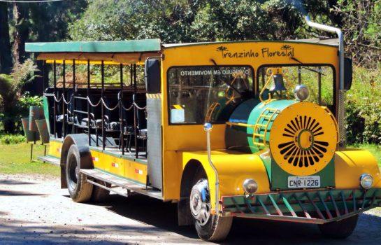 Trenzinhos, Ônibus, Vans estão liberados em Campos do Jordão a partir do dia 16 de Setembro