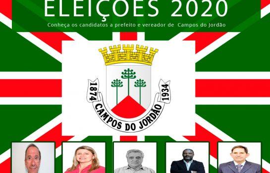 Lista de Candidatos a Prefeitura e a Vereador de Campos do Jordão