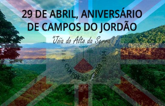 Campos do Jordão, completa 147 anos no próximo dia 29 de Abril de 2021