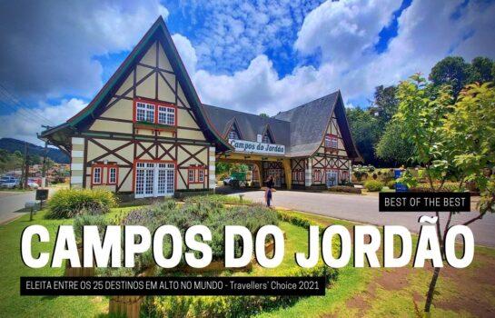 Campos do Jordão é destaque no Travellers' Choice 2021 Best of the Best