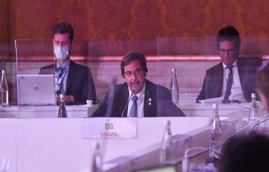 Na Itália, ministro do Turismo reforça compromisso do país com a cultura, o turismo e o meio ambiente